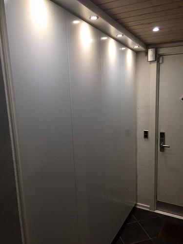 Special bygget garderobe