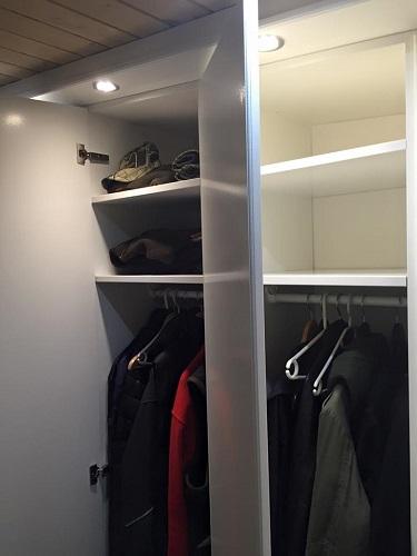 Special tilpasset garderobe